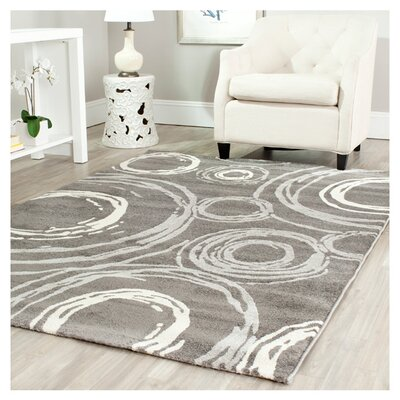 Kenzo Dark Gray Area Rug Rug Size: Rectangle 8 x 112