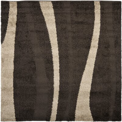 Mika Brown Area Rug Rug Size: Square 5