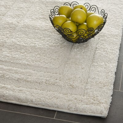 Drennen Creme Area Rug Rug Size: Rectangle 96 X 13