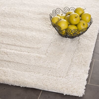 Drennen Creme Area Rug Rug Size: Rectangle 33 x 53