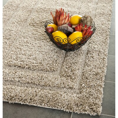 Mika Beige Area Rug Rug Size: Runner 23 x 7
