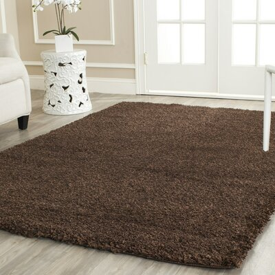 Rowen Brown Area Rug Rug Size: Rectangle 4 x 6