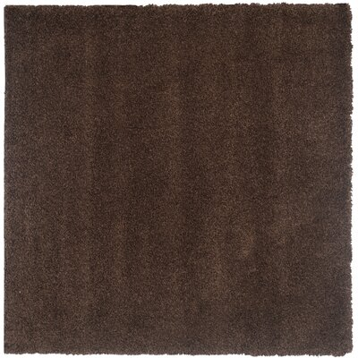 Rowen Brown Area Rug Rug Size: Square 67