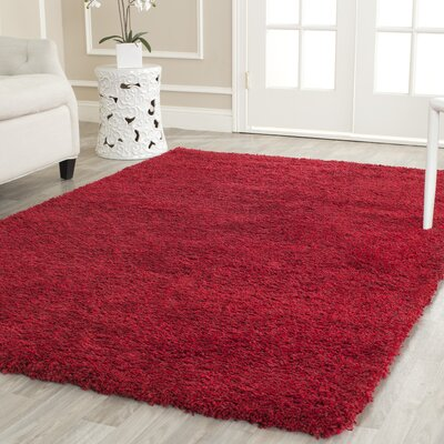 Rowen Red Area Rug Rug Size: Runner 23 x 7