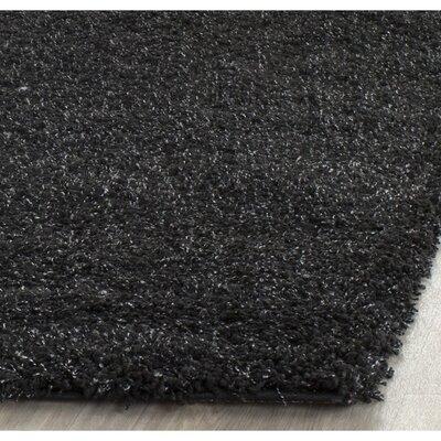 Rowen Black Area Rug Rug Size: 8 x 10