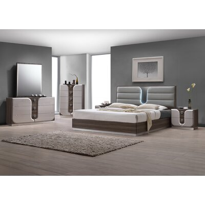 Anshul Platform Customizable Bedroom Set