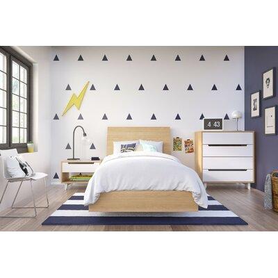 Coalmont Platform Customizable Wood Bedroom Set