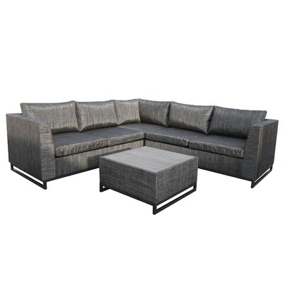 Major 4 Piece Deep Seating Group with Cushion