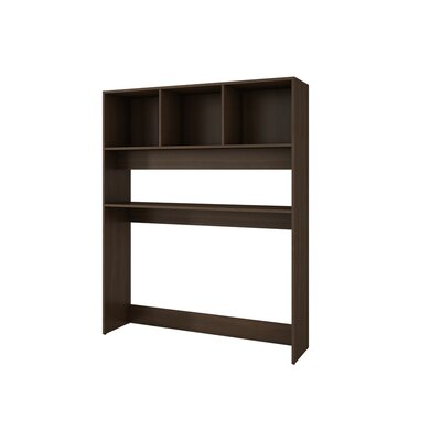 Brescia  59.25 H x 47.24 W Desk Hutch Finish: Tobacco