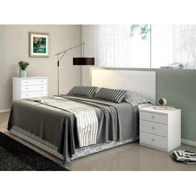 Boulton 5 Drawer Dresser Color: White