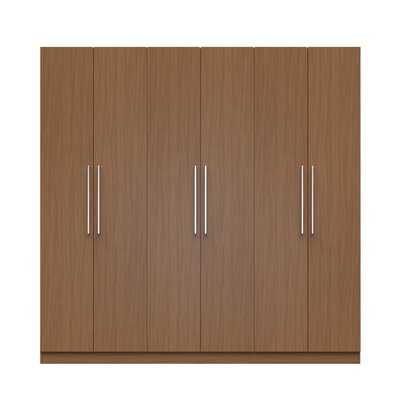 Lucca Armoire Color: Maple Cream