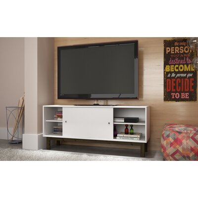 Bresnahan 53 TV Stand Color: White