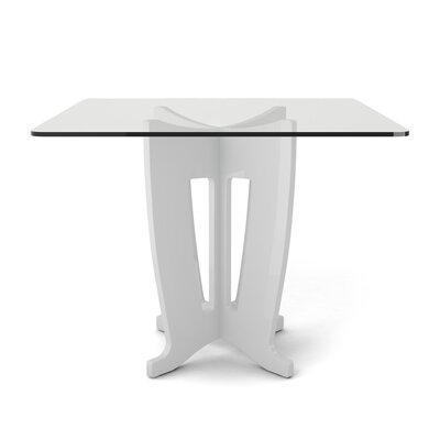 Bramlett Dining Table Finish: White Gloss