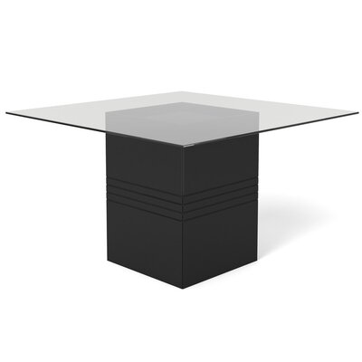 Bourgeois Square Dining Table Finish: Black Gloss