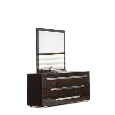 Oatfield 3 Drawer Dresser with Mirror