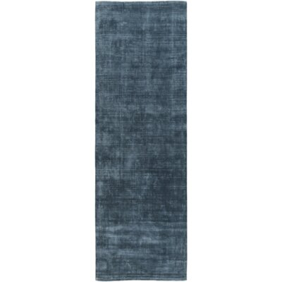 Maxim Hand-Tufted Teal Area Rug Rug Size: Rectangle 6 x 9