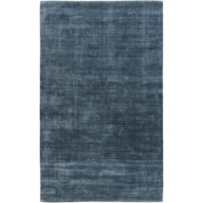 Maxim Hand-Tufted Teal Area Rug Rug Size: Rectangle 5 x 76