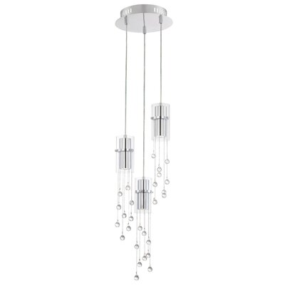 Aazad 3-Light Mini Pendant