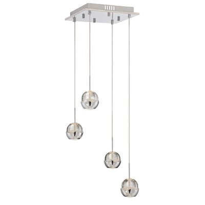 Cassandrea 4-Light Mini Pendant