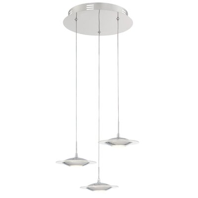 Tarek 3-Light Mini Pendant