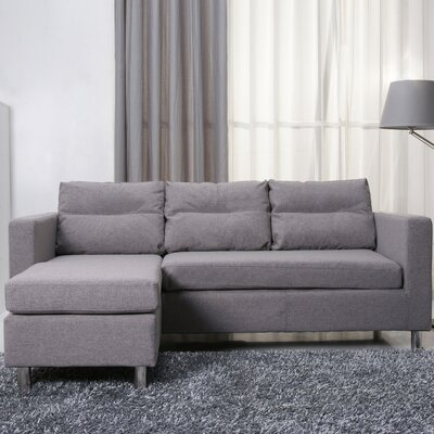 Clarence Sectional Upholstery: Ash