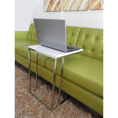Cashin End Table Color: White