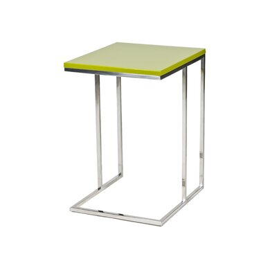 Cashin End Table Color: Green
