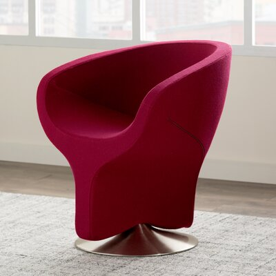 Aldwick Occasional Arm Chair Color: Red