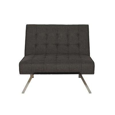 Littrell Convertible Chair Upholstery: Gray