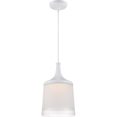 Pontus 1-Light Pendant Color: Clear Glass