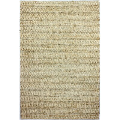 Attleboro Hand-Woven Natural Area Rug Rug Size: 76 x 96