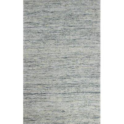 Deadra Hand-Woven Silver Area Rug Rug Size: 5 x 7