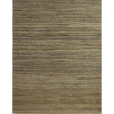 Baileyville Hand-Woven Natural Area Rug Rug Size: 76 x 96