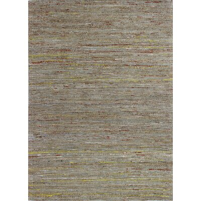 Deadra Hand-Woven Natural Area Rug Rug Size: 5 x 7