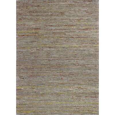 Deadra Hand-Woven Natural Area Rug Rug Size: 59 x 89