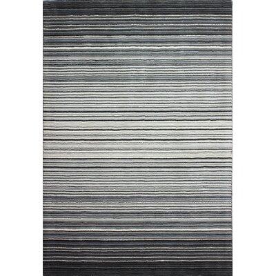 Lomita Hand-Woven Grey Area Rug Rug Size: 5 x 76