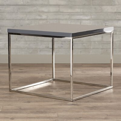 Mccoy End Table Color: Gray Lacquer