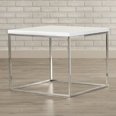 Mccoy End Table Color: White Lacquer