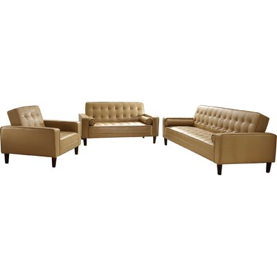 Navi Leather Configurable Living Room Set