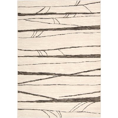 Cherelle Ivory Area Rug Rug Size: Rectangle 910 x 13