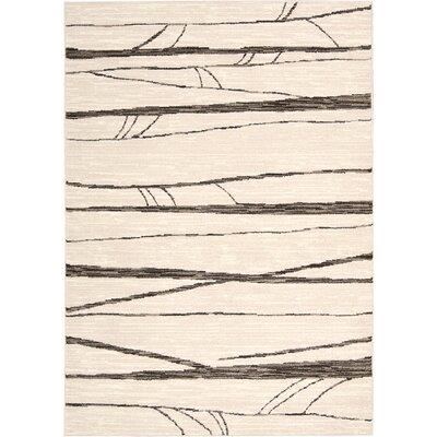 Modesto Ivory Area Rug Rug Size: 910 x 13