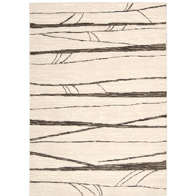 Cherelle Ivory Area Rug Rug Size: Rectangle 39 x 59