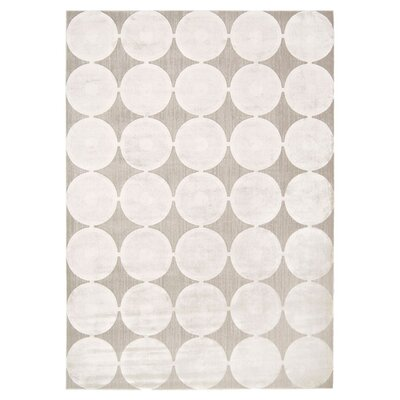 Cherise Feather Rug Rug Size: 53 x 75