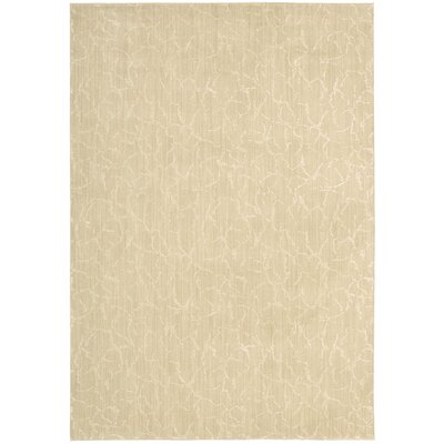 Soledad Bonem Gold Area Rug Rug Size: 53 x 75
