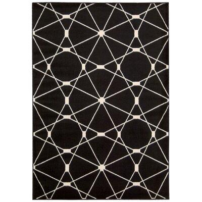 Trinidad Black Area Rug Rug Size: 710 x 106