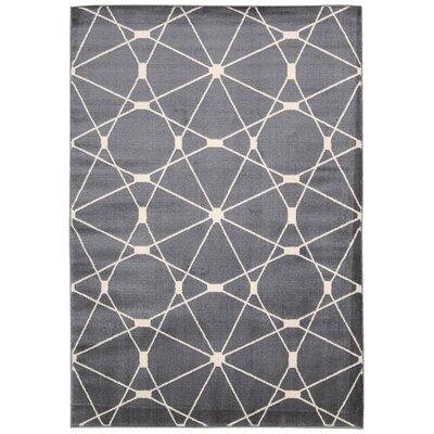 Trinidad Gray /Ivory Area Rug Rug Size: 311 x 53