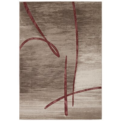 Adak Beige Rug Rug Size: 710 x 106