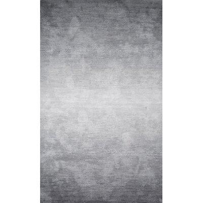 Arboleda Hand-Tufted Gray Area Rug Rug Size: Rectangle 86 x 116