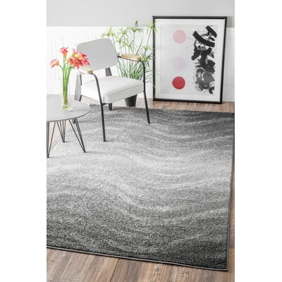 Bilboa Gray Area Rug Rug Size: Rectangle 86 x 116