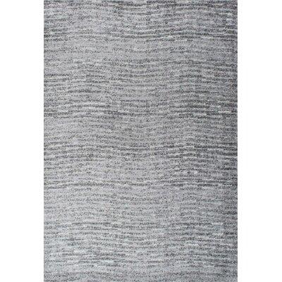 Bismark Gray Area Rug Rug Size: 3 x 5